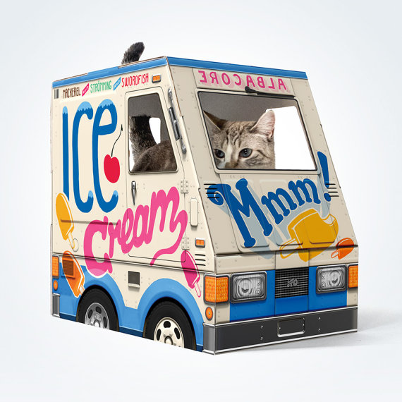 Ice Cream Truck for Cats