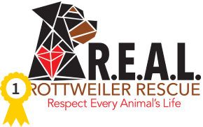 REAL Rottweiler Rescue logo